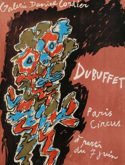 Jean DUBUFFET (1901-1985) Paris Circus -...