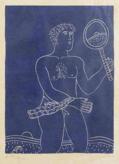 Alexandre FASSIANOS [grec] (né en 1935) Homme...