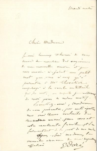 Gustave DORÉ (1832-1883) LAS, Mardi matin,...