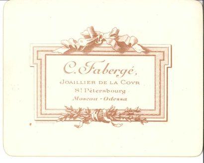 [Karl Fabergé (1846-1920) joaillier russe]...