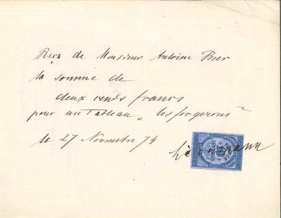 Max Liebermann (1847-1935) PAS, 27 novembre...