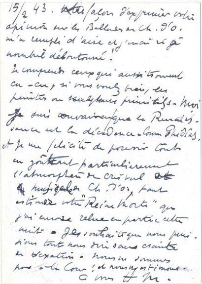 Henri MATISSE LAS («HM» et «Henri Matisse»...