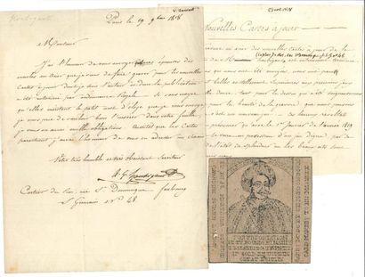 CARTES À JOUER Armand Gustave houbigant (1789-1862)...
