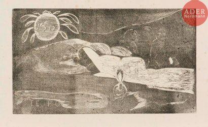 Paul Gauguin (1848-1903) Te Po (La grande...