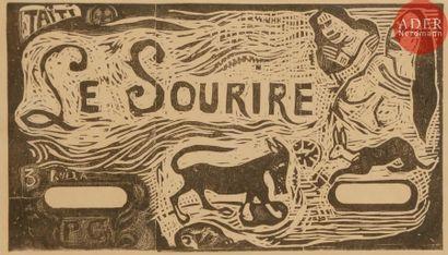 Paul Gauguin (1848-1903) Titre pour «Le...