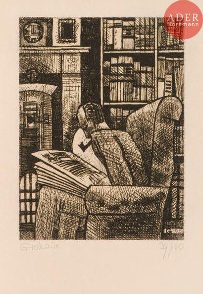 Marcel Gromaire (1892-1971) L'Amateur de...