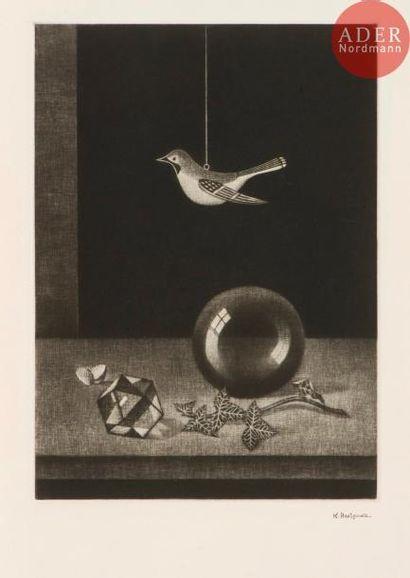 Kiyoshi Hasegawa (1891-1980) Nature morte...