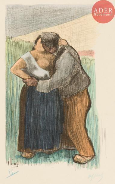 Henri-Gabriel Ibels (1867-1936) Les Culs-Terreux....