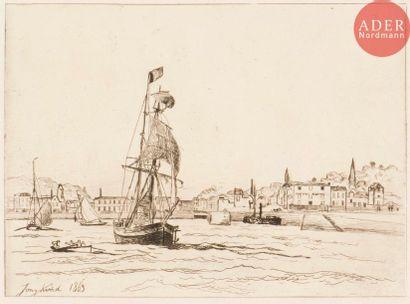 Johan Barthold Jongkind (1819-1891) Entrée...