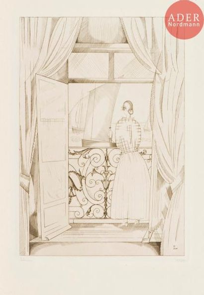 Jean-Émile Laboureur (1877-1943) Le Balcon...