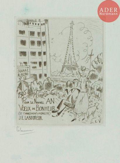 Jean-Émile Laboureur (1877-1943) Cartes de...