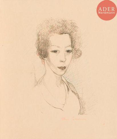 Marie Laurencin (1883-1956) Autoportrait....