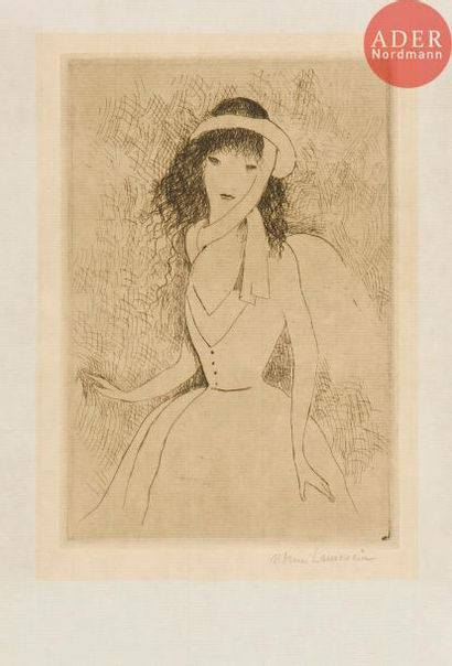 Marie Laurencin (1883-1956) L'Anglaise. 1921....