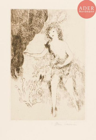 Marie Laurencin (1883-1956) La Semeuse. (Pl....