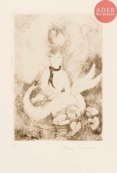 Marie Laurencin (1883-1956) La Sirène aux...