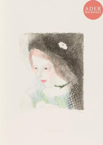 Marie Laurencin (1883-1956) Suzanne. 1927....