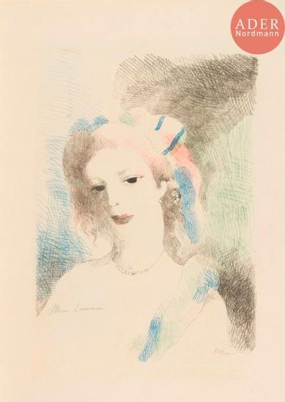 Marie Laurencin (1883-1956) Augusta. 1930....