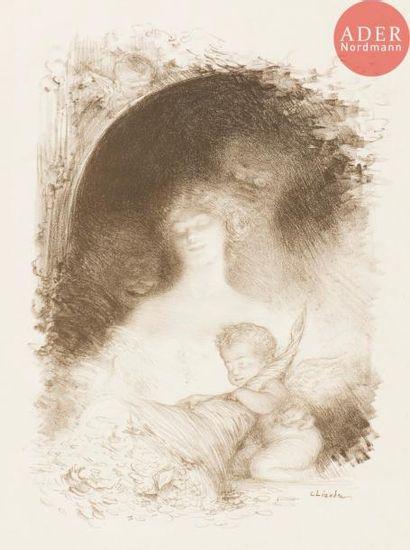 Charles Léandre (1862-1934) La Femme riche...