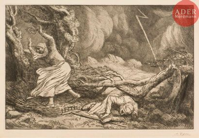 Alphonse Legros (1837-1911) Victime de la...