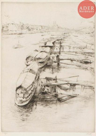 Gustave Leheutre (1861-1932) Les Bateaux...