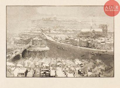 Auguste Lepère (1849-1918) Paris sous la...