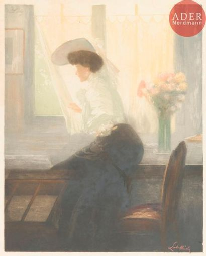 Alméry Lobel-Riche (1877-1950) Femme à la...