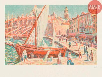 Maximilien Luce (1858-1941) Saint-Tropez....