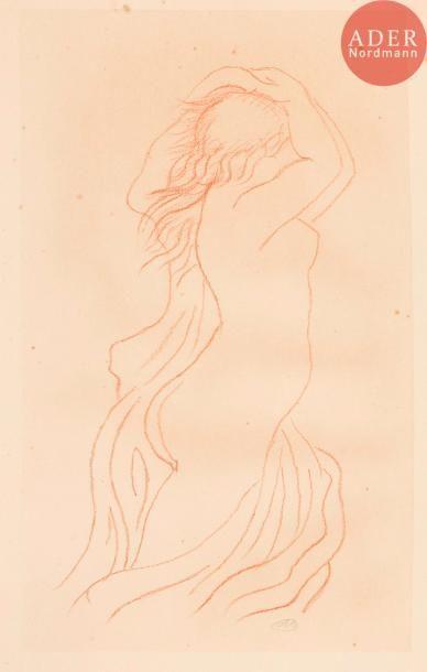 Aristide Maillol (1861-1944) Femme nue de...