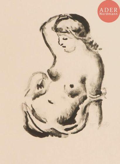 Aristide Maillol (1861-1944) Femme assise...