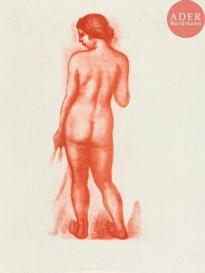Aristide Maillol (1861-1944) Nus en pied....