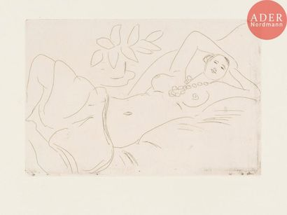 Henri Matisse (1869-1954) Odalisque couchée....