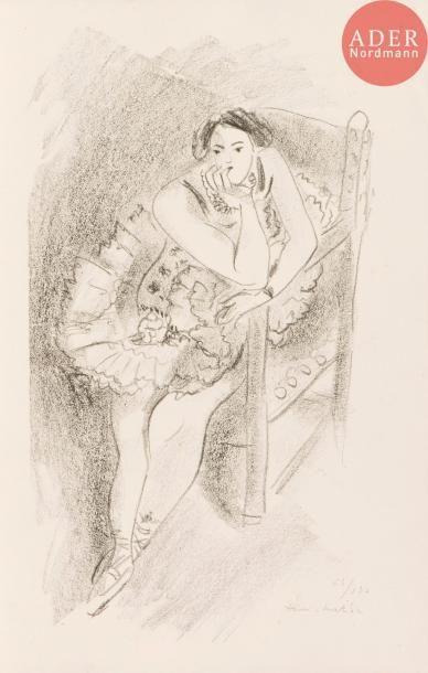 Henri Matisse (1869-1954) Danseuse assise...