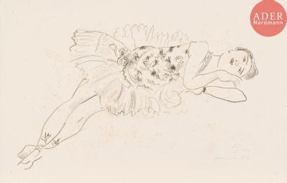Henri Matisse (1869-1954) Danseuse allongée,...