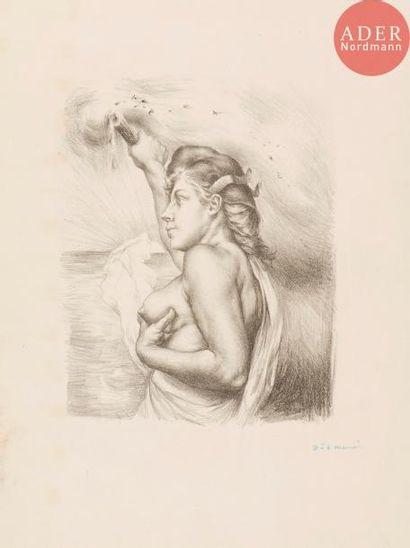 Charles Maurin (1856-1914) La Liberté, ou...