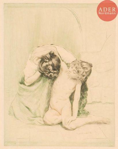 Charles Maurin (1856-1914) 2 pl. pour La...