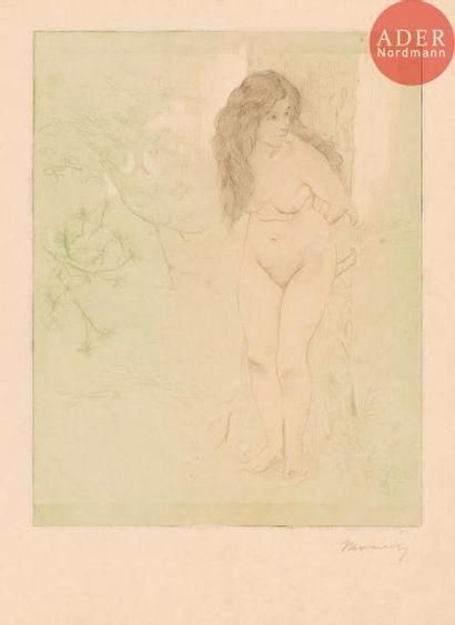Charles Maurin (1856-1914) Femme attachée...