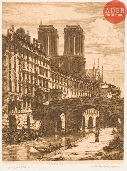 Charles Méryon (1821-1868) Le Petit Pont....
