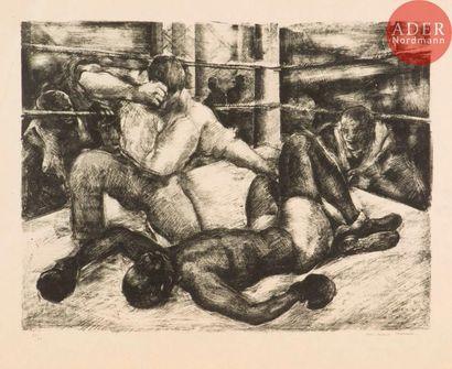 Luc-Albert Moreau (1882-1948) [Boxe]. Eight,...