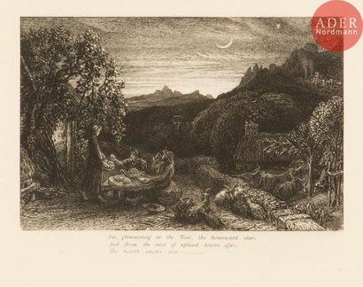 Samuel Palmer (1805-1891) The Homeward Star....