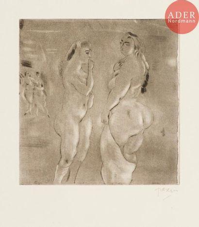 Jules Pascin(Julius Mordecai Pincas,dit)(1885-1930)...