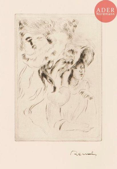 Pierre-Auguste Renoir (1841-1917) Le Chapeau...