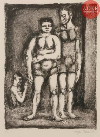 Georges Rouault (1871-1958) Lutteuse. 1926....