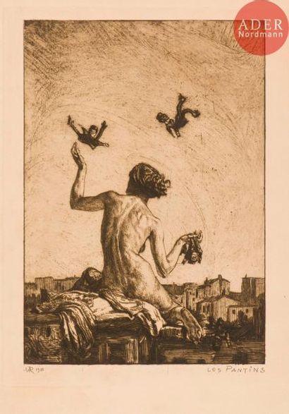 Marcel Roux (1878-1922) Les Pantins. 1910....