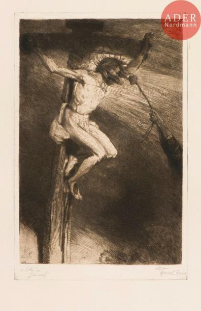 Marcel Roux (1878-1922) «Sitio!» J'ai soif! (Pl. pour Les Sept paroles de Jésus...
