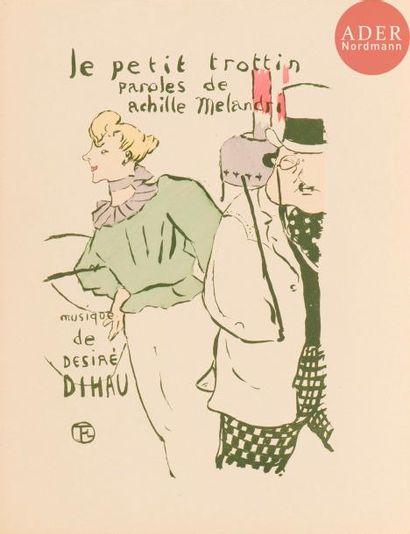 Henri de Toulouse-Lautrec (1864-1901) Le Petit trottin. 1893. Lithographie. 195x270....
