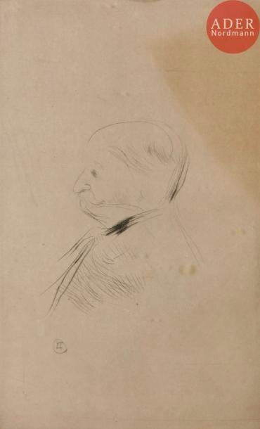 Henri de Toulouse-Lautrec (1864-1901) W. H. B. Sands, éditeur; Portrait de M. X....
