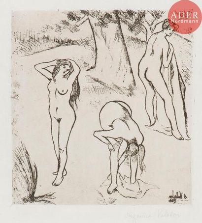 Suzanne Valadon (1865-1938) Femmes nues sous...