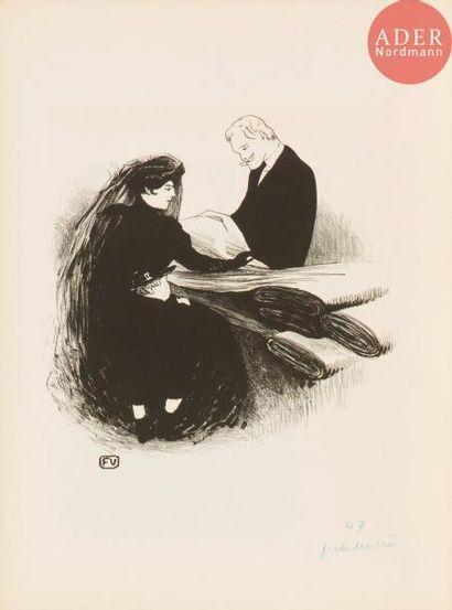 Félix Vallotton (1865-1925) Dernière nouveauté....