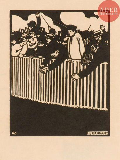 Félix Vallotton (1865-1925) Le Gagnant. 1898. Bois gravé. 178x224. Vallotton et...