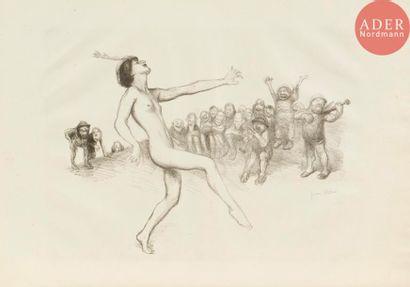 Jean Veber (1864-1928) La Danse devant les...
